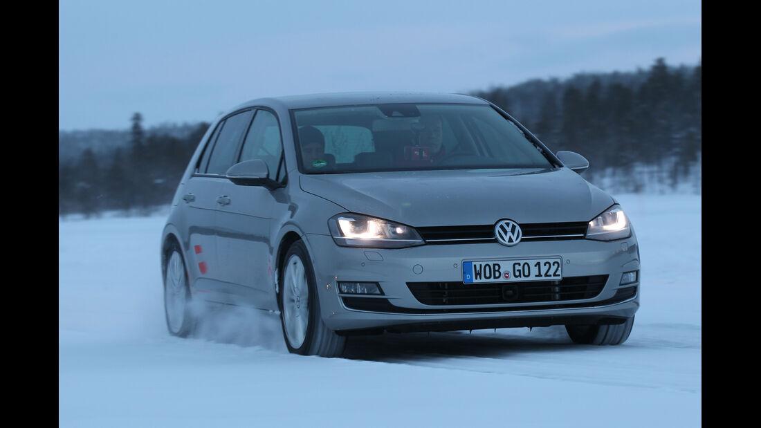 VW Golf 2.0 TDI 4 Motion, Frontansicht