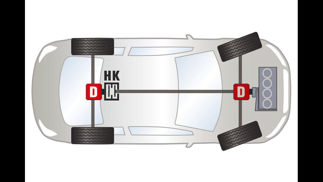 VW Golf 2.0 TDI 4 Motion, Grafik, Allrad