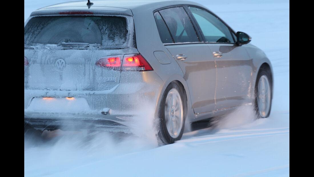 VW Golf 2.0 TDI 4 Motion, Heckansicht