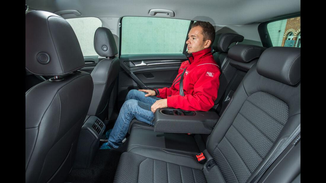 VW Golf 2.0 TDI, Fondsitz, Beinfreiheit