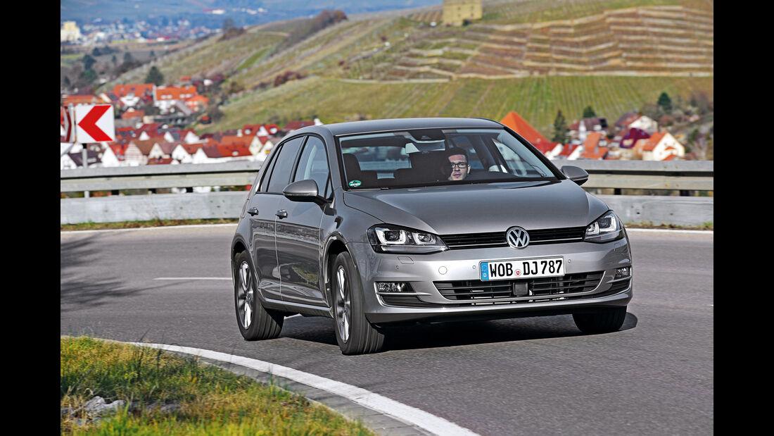 VW Golf 2.0 TDI, Frontansicht