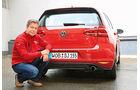 VW Golf 2.0 TDI, Heckansicht, Dirk Gulde