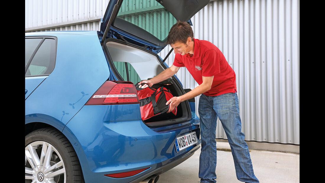 VW Golf 2.0 TDI, Heckklappe