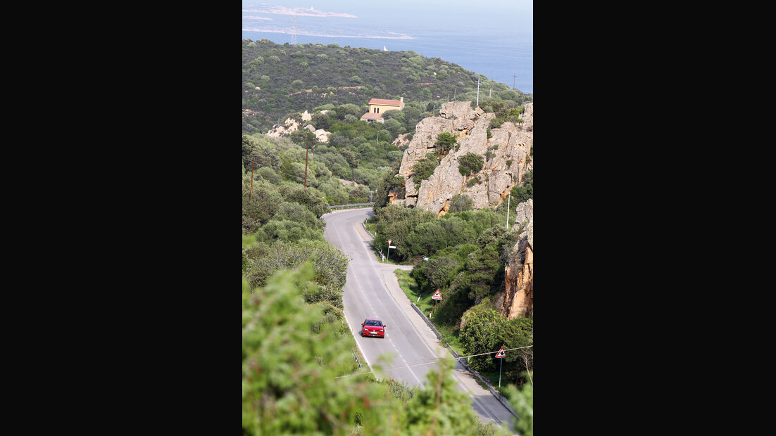 VW Golf 2.0 TDI Highline, Frontansicht, Italien