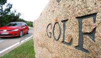 VW Golf 2.0 TDI Highline, Frontansicht