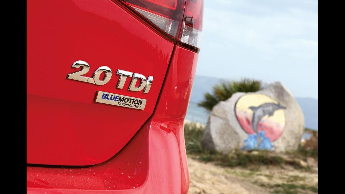 VW Golf 2.0 TDI Highline, Typenbezeichnung