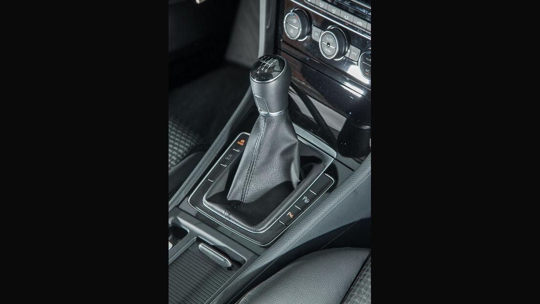 VW Golf 2.0 TDI, Schalthebel