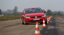VW Golf 2.0 TDI, Slalom