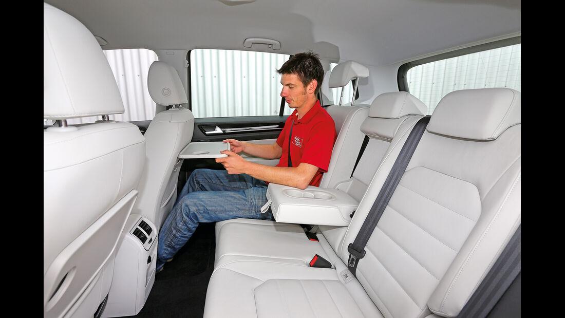 VW Golf 2.0 TDI Sportsvan, Fondsitz, Beinfreiheit