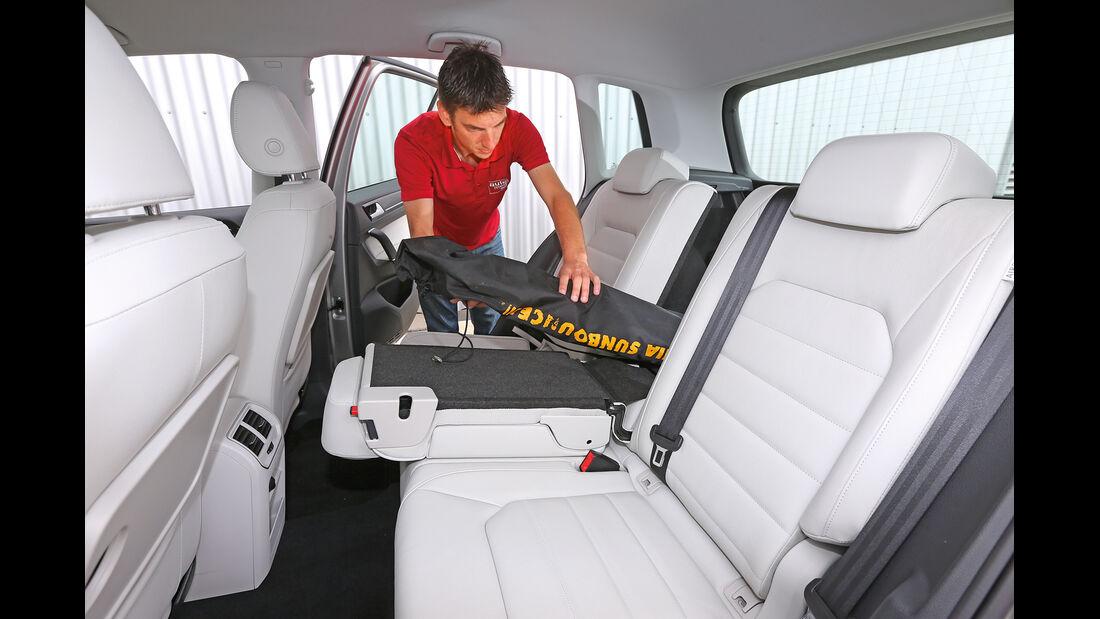 VW Golf 2.0 TDI Sportsvan, Fondsitz, Umklappen
