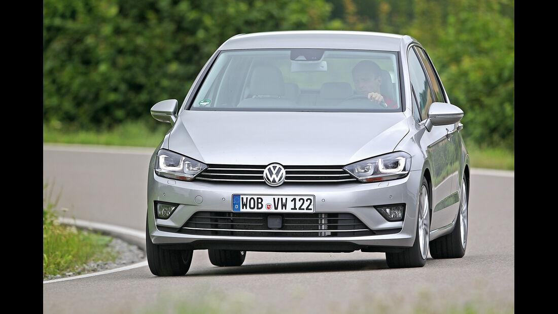 VW Golf 2.0 TDI Sportsvan, Frontansicht