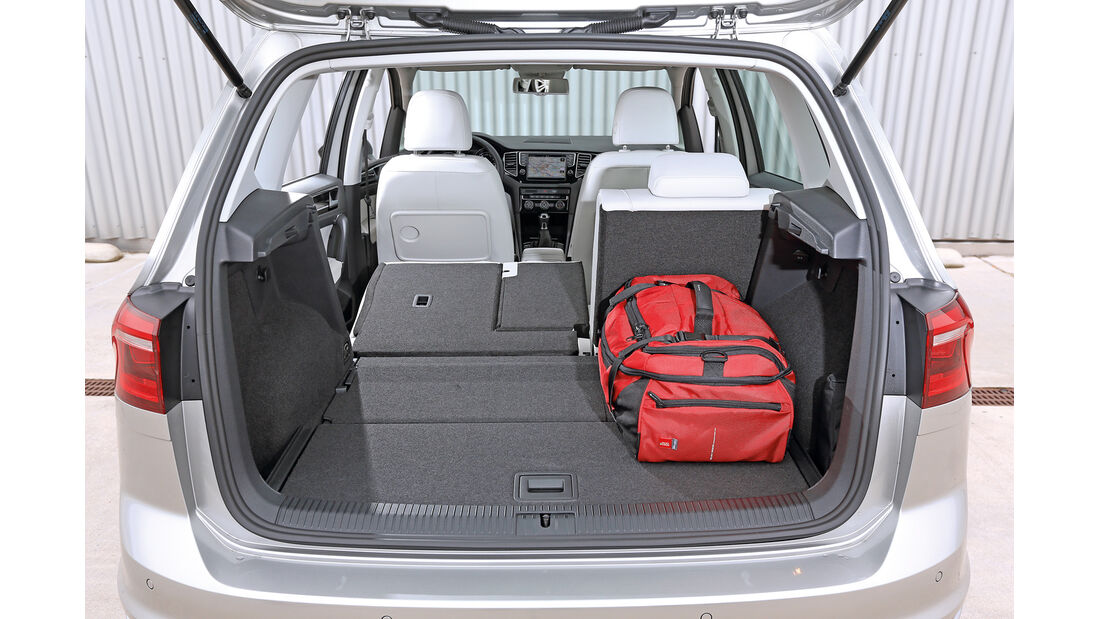 VW Golf 2.0 TDI Sportsvan, Kofferraum