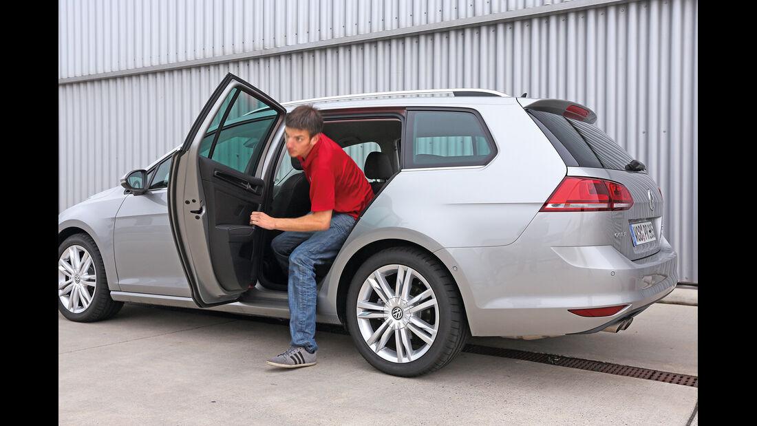 VW Golf 2.0 TDI Variant, Cockpit