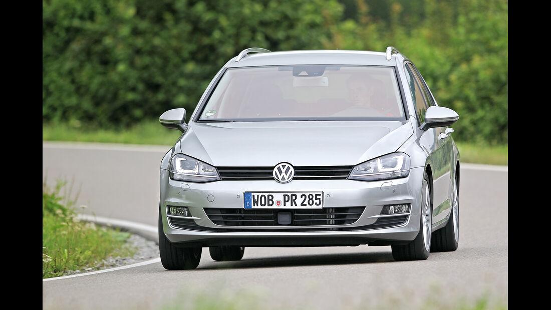 VW Golf 2.0 TDI Variant, Frontansicht