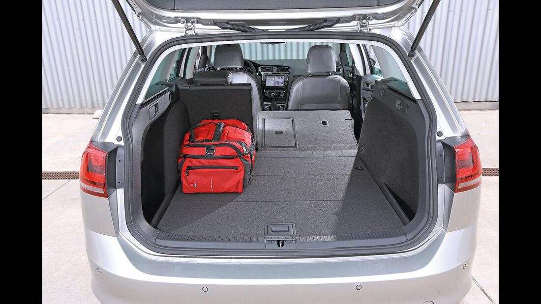 VW Golf 2.0 TDI Variant, Laderaum, Fondsitz umgeklappt