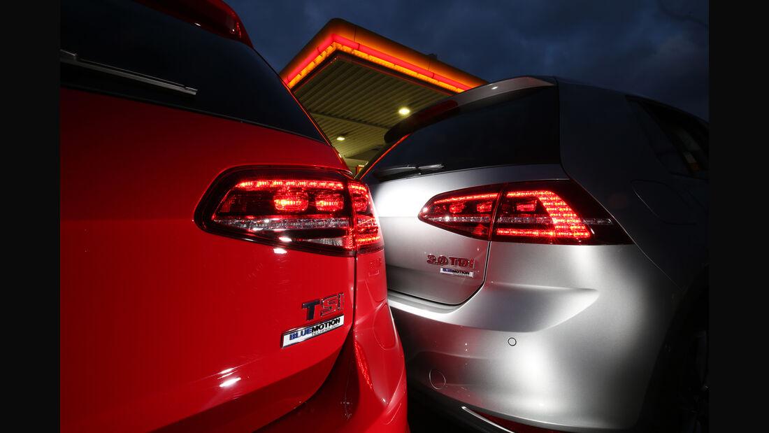 VW Golf 2.0 TDI gegen 1.4 TSI