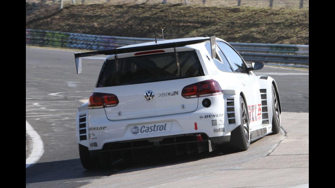 VW Golf 24h, Rennwagen, Nürburgring