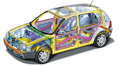 VW Golf 4 Karosserie