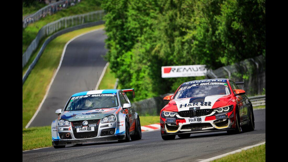 VW Golf 5 - Startnummer - 24h Rennen Nürburgring - 21. Juni 2019