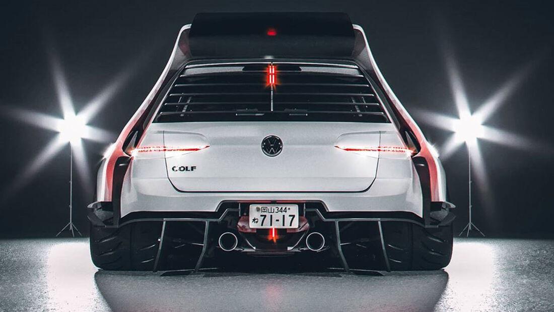 VW Golf 7 Cyberpunk