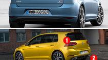 VW Golf 7 Facelift: Das ist neu