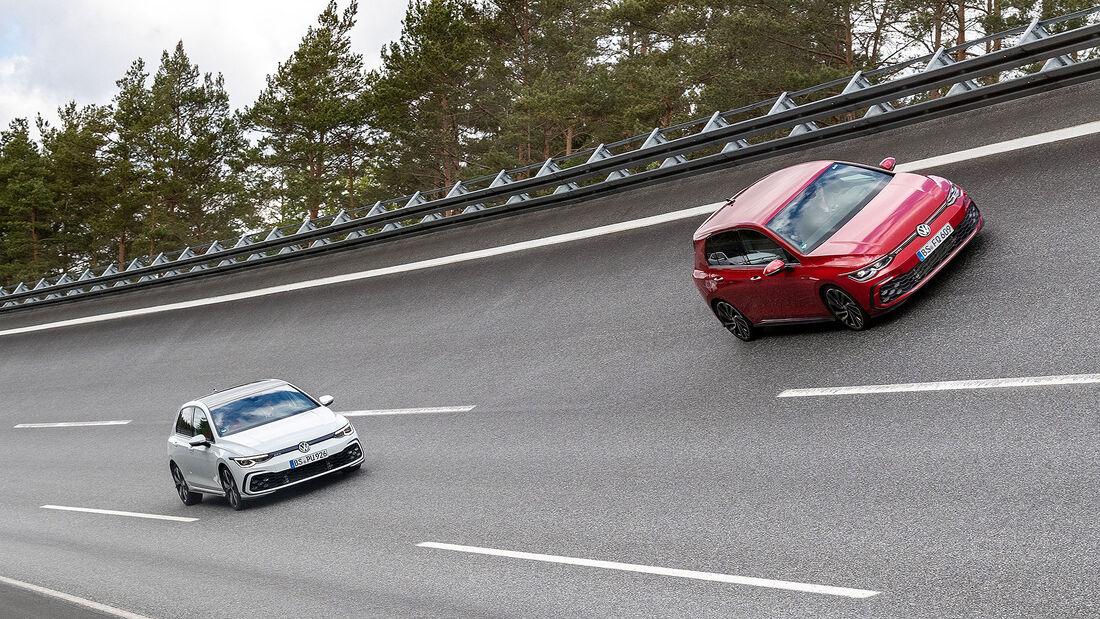 VW Golf 8 GTI GTE