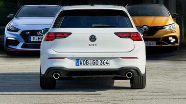 VW Golf 8 GTI Konkurrenz Hyundai i30 N Megane RS