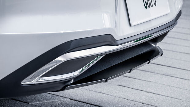 VW Golf 8 - Oettinger - Tuning - Diffusoraufsatz