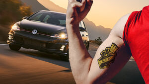 VW Golf AIK Stockholm Tattoo Ink-Edition