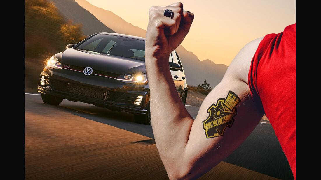 VW Golf AIK Stockholm Tattoo Ink-Edition