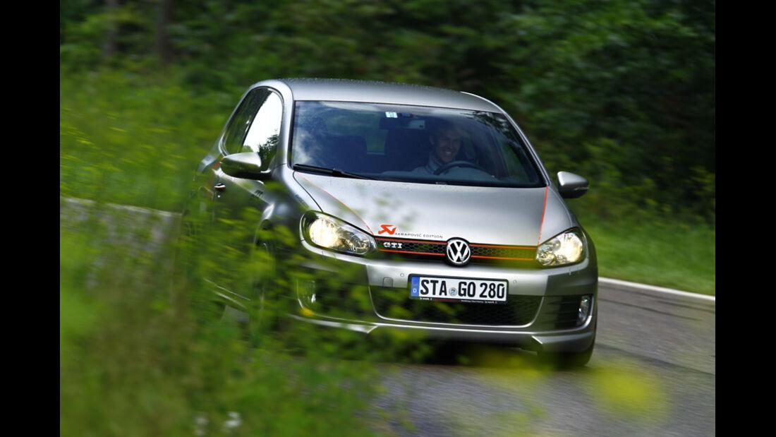 VW Golf Akrapovic