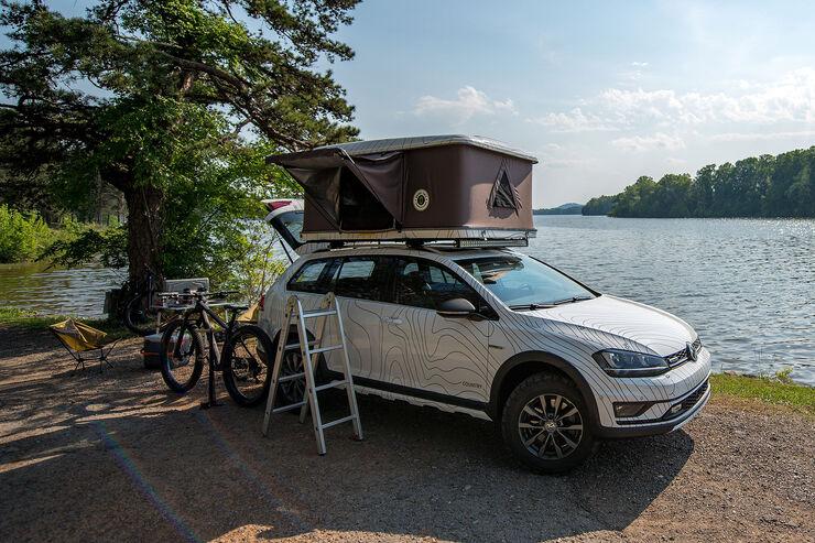 Vw Conceptcars F 252 R Sowo 2017 Vom Gti Rs Bis Zum Dachzelt