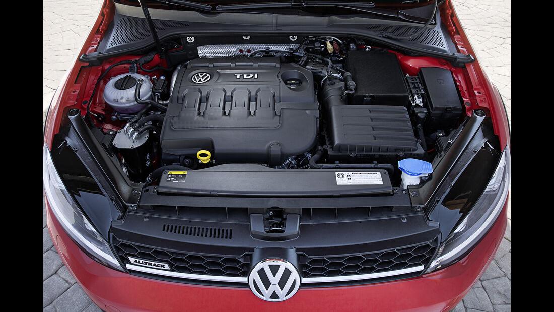 VW Golf Alltrack, Motor