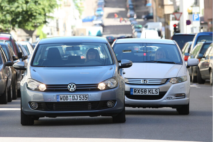 VW Golf Bi-Fuel Comfortline, Honda Insight Elegance