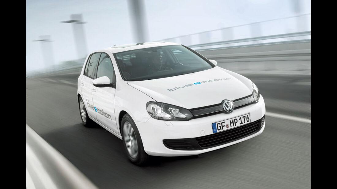 VW Golf Blue E-Motion, Frontbild