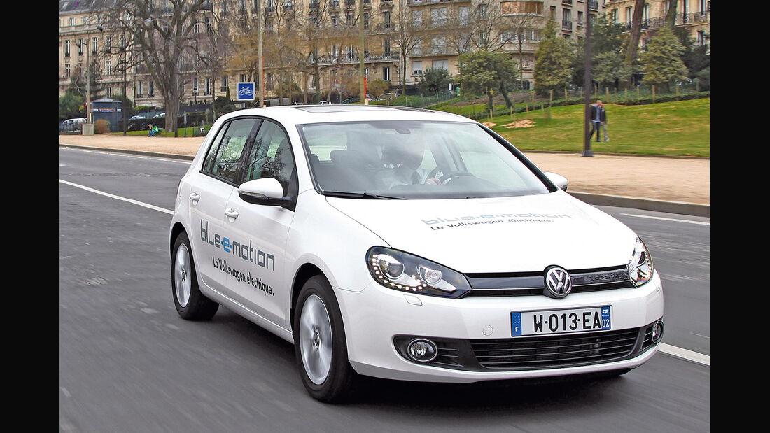 VW Golf Blue-e-Motion, Frontansicht