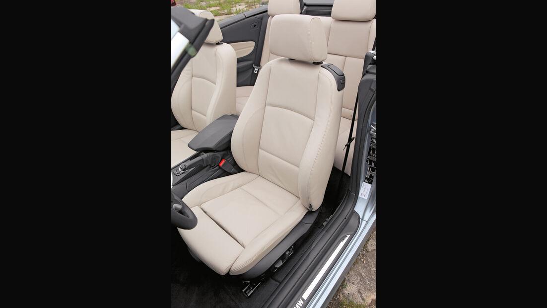 VW Golf Cabrio 1.4 TSI, Fahrersitz