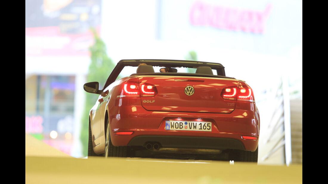 VW Golf Cabrio 1.4 TSI, Heck, offen