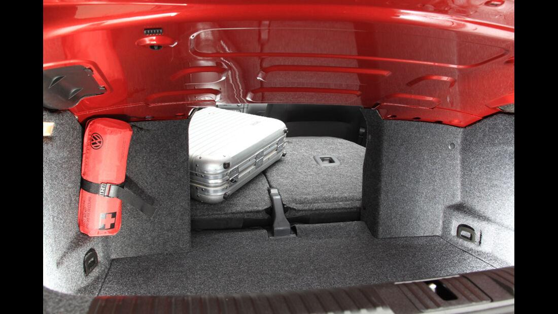 VW Golf Cabrio 1.4 TSI, Kofferraum, Laderaum