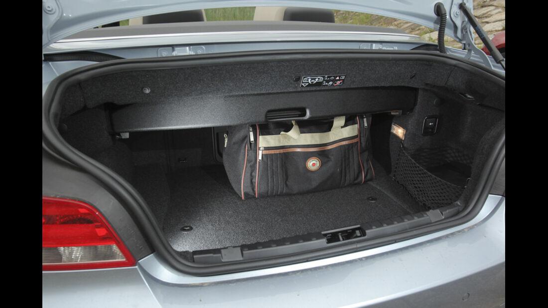 VW Golf Cabrio 1.4 TSI, Laderaum, Kofferraum
