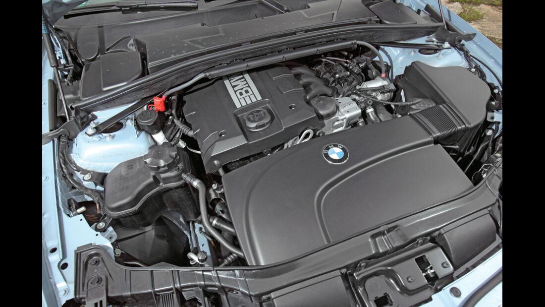 VW Golf Cabrio 1.4 TSI, Motor, Motorraum