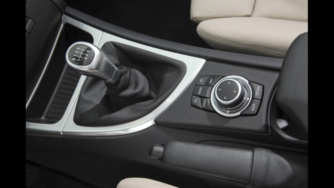 VW Golf Cabrio 1.4 TSI, Schalthebel, Schaltknauf