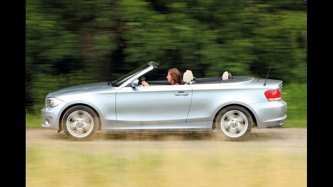 VW Golf Cabrio 1.4 TSI, Seitenansicht