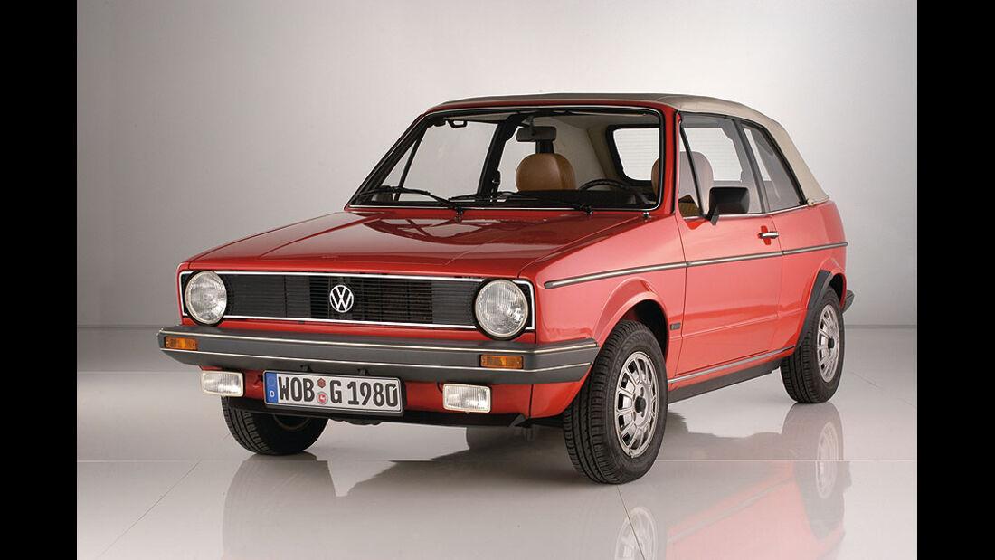 VW Golf Cabrio Baujahr 1980