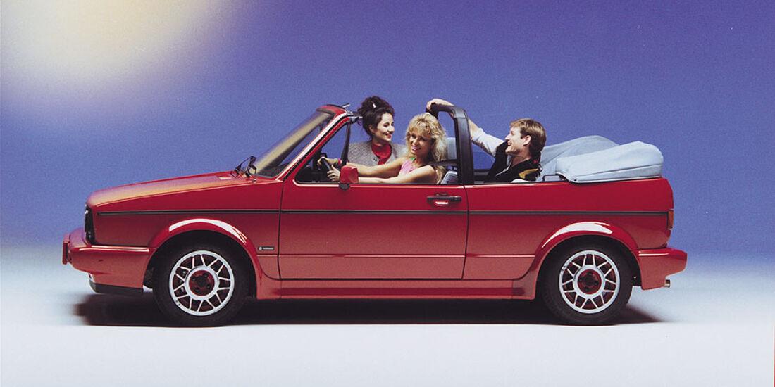 VW Golf Cabrio Baujahr 1988