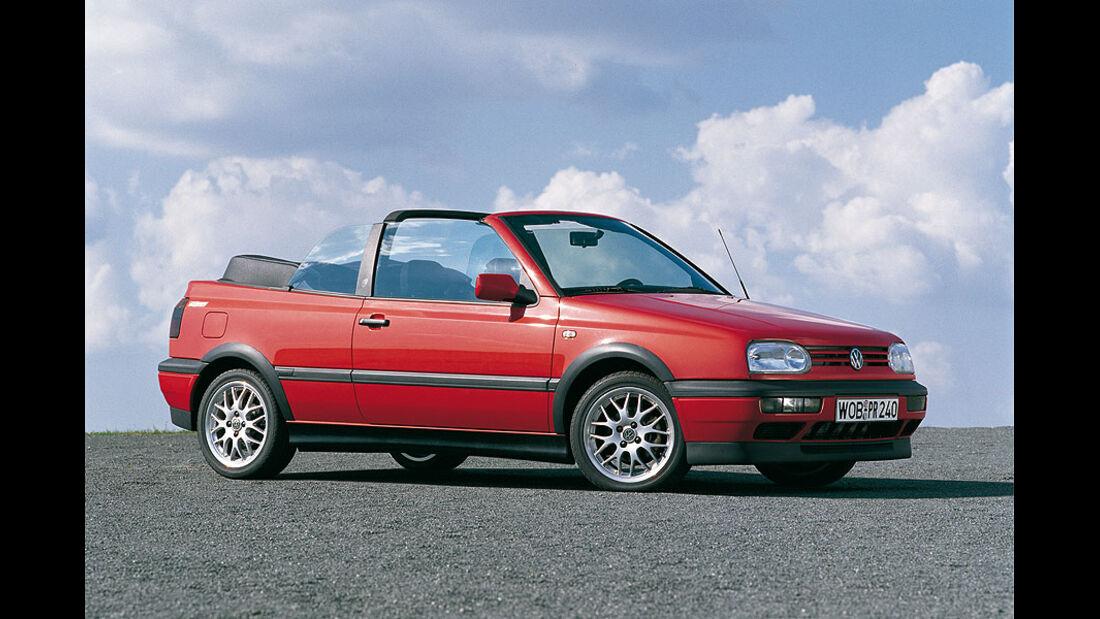VW Golf Cabrio Baujahr 1997