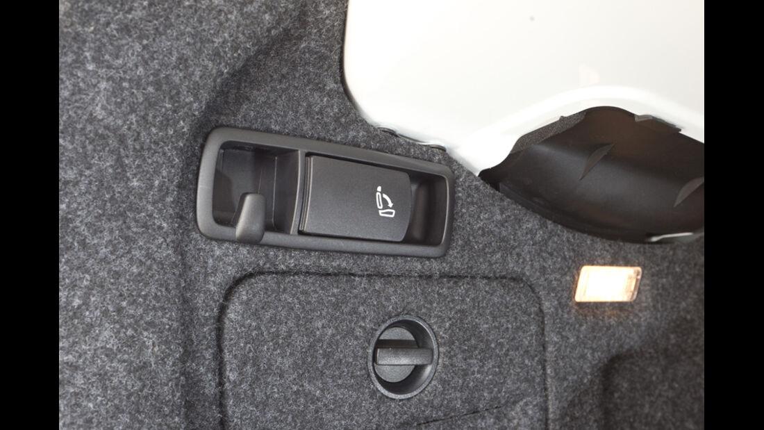 VW Golf Cabrio, Detail, Sitzverstellung