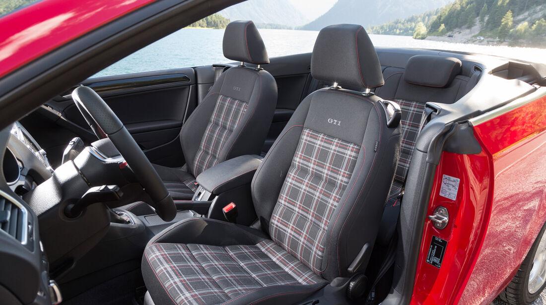 VW Golf Cabrio, Fahrersitz