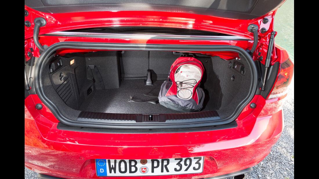 VW Golf Cabrio, Kofferraum