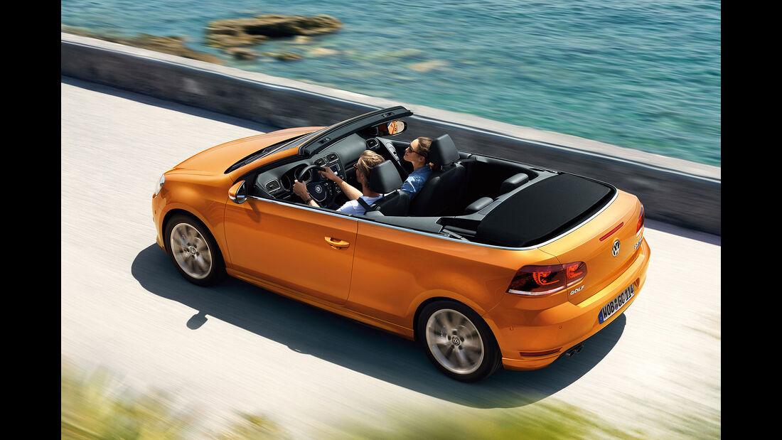 VW Golf Cabrio Modelljahr 2016